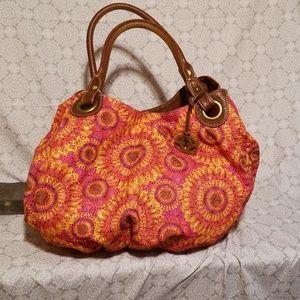 Red by Marc Ecko Summer Hobo Bag Orange & Pink